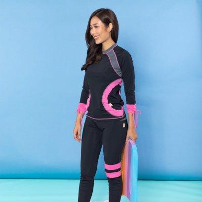 Holihi Swimsuits/ Koh Yang Mom (Pink)