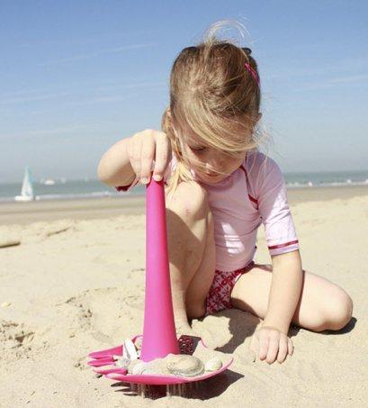 Holihi Beach Toys/ QUUT Triplet (Calypso Pink)