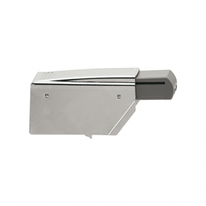 BLUMOTION hinge with double cranked hinge arm