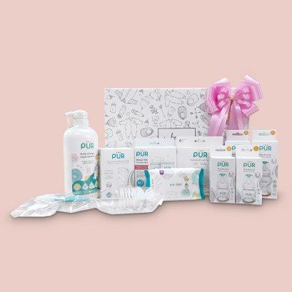 "GIFTSET6 : เซตของขวัญ สำหรับเด็กแรกเกิด ""Welcome Baby """