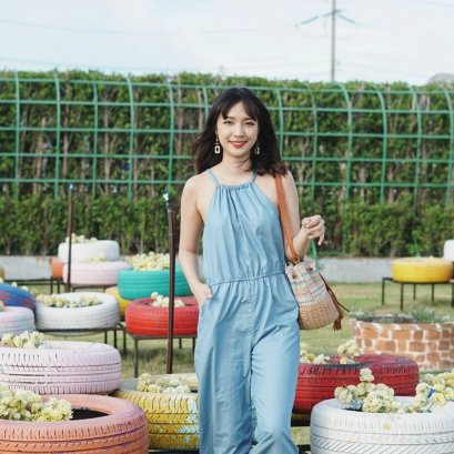 Summer Jumpsuit รุ่น Denim