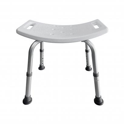 เก้าอี้อาบน้ำผู้สูงอายุ เก้าอี้อาบน้ำไม่มีพนักพิง ปรับระดับได้