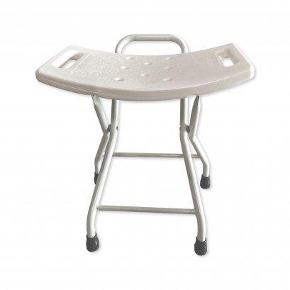 เก้าอี้อาบน้ำผู้สูงอายุ เก้าอี้อาบน้ำไม่มีพนักพิง พับได้