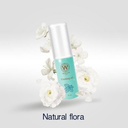 Cooling Oil กลิ่น Natural flora