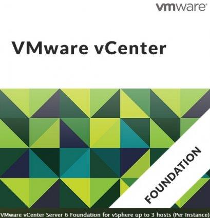 VMware vCenter Server 6 Foundation for vSphere up to 4 hosts (Per Instance)