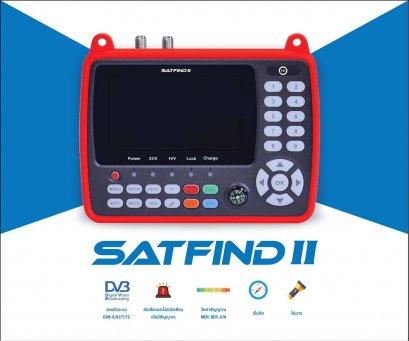 เครื่องมือวัดสัญญาณดาวเทียมและดิจิตอลทีวี รุ่น SATFIND II ของ PSI