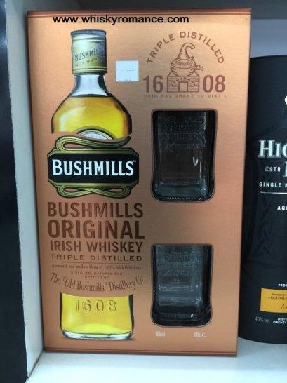 Bushmills Original Irish Whisky Gift Box