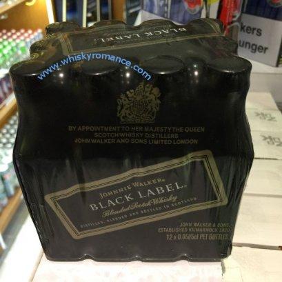 Johnnie Walker Black Label 5cl (12 ขวด) 1-ลัง