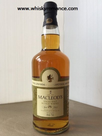 Macleod's Speyside 8 Year Old  70cl