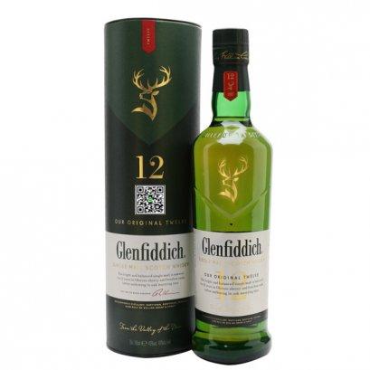 ซิงเกิลมอลต์ วิสกี้-Glenfiddich Our Original Twelve 1L (12 ขวด)1-ลัง