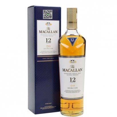 ซิงเกิลมอลต์ วิสกี้-Macallan 12 Year Old Double Cask 70cl / 40%
