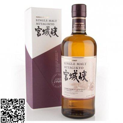 ซิงเกิลมอลต์ วิสกี้-Nikka Miyagikyo Single Malt Whisky 70cl