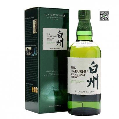 ซิงเกิลมอลต์ วิสกี้-Suntory Hakushu Distiller's Reserve 70cl 43%