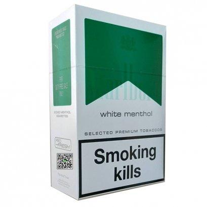 บุหรี่ สวิตเซอร์แลนด์ -Marlboro White Menthol 1-คอตตอน
