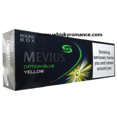 บุหรี่ Mevius Option Blue Yellow