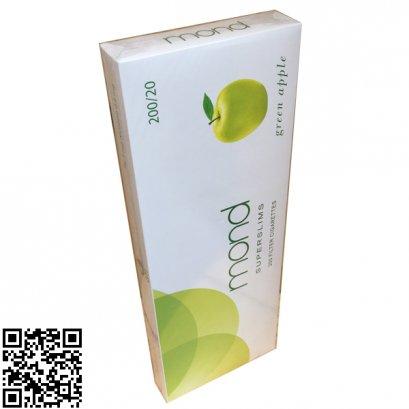 บุหรี่-Mond Green Apple Super Slims