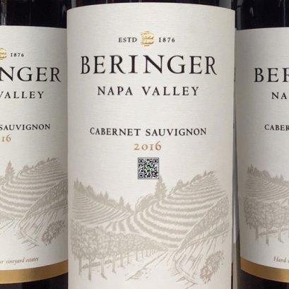 ไวน์แดงจาก สหรัฐอเมริกา-Beringer Napa Valley Cabernet Sauvignon 2016