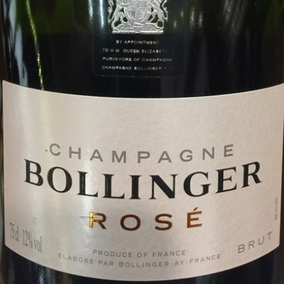 Bollinger Brut Rose Champagne