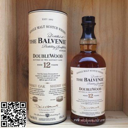 ซิงเกิลมอลต์ วิสกี้-The Balvenie DoubleWood Aged 12 Years 70cl