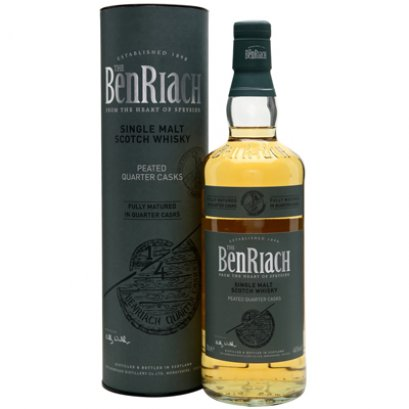 BenRiach Peated Quarter Cask (70cl/46%)