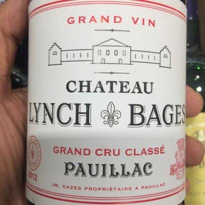 Chateau Lynch Bages Pauillac 2012