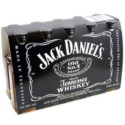 Jack Daniel's Old No.7 (5cl/10 ขวด) 1-ลัง