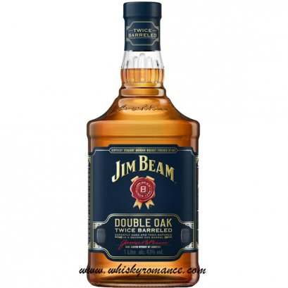 Jim Beam Double Oak Twice Barreled 1L