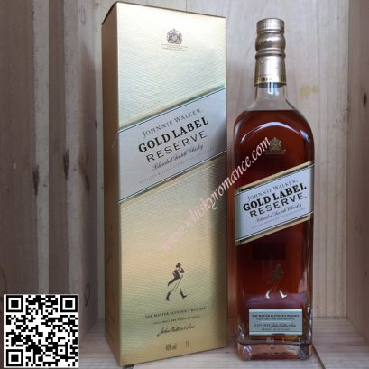Johnnie Walker Gold Label Reserve 75cl 12 ขวด ลัง