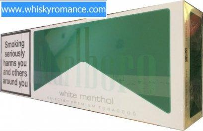 Marlboro White Menthol (1 คอตตอน)