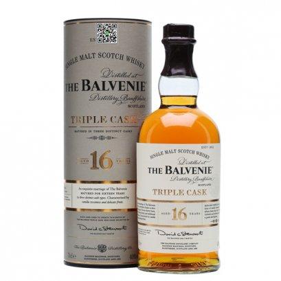 ซิงเกิลมอลต์ วิสกี้-The Balvenie Triple Cask Aged 16 Years 70cl