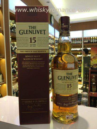 ซิงเกิลมอลต์ วิสกี้-The Glenlivet 15 Years Of Age 70cl