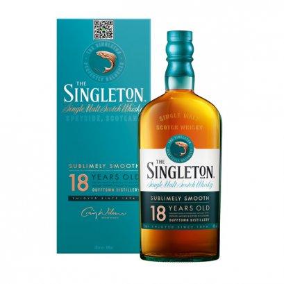 ซิงเกิลมอลต์ วิสกี้-The Singleton of Dufftown 18 Year Old 70cl