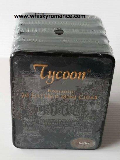 Tycoon Romantic 20 Filtered Mini Cigar (Coffee)
