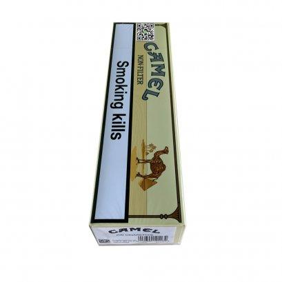 บุหรี่ จาก เยอรมนี-Camel Non-Filter ซองอ่อน 1คอตตอน