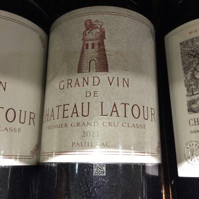 ไวน์แดงจาก ฝรั่งเศส-Chateau Latour 2011