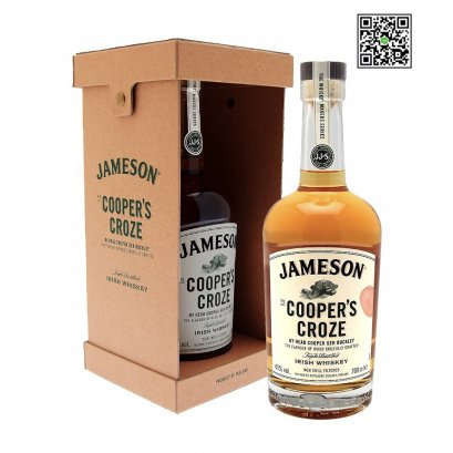 วิสกี้ไอร์แลนด์-Jameson The Cooper's Croze 70cl / 43%