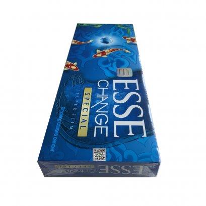 บุหรี่ เกาหลี - ESSE Change Special  เม็ดบีบ (1 คอตตอน) Tar 4.0 mg / Nicotine 0.30 mg