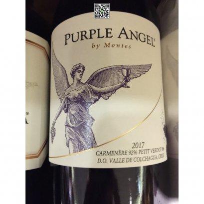 ไวน์แดง ชิลี-Montes Purple Angel Carmenere 2017