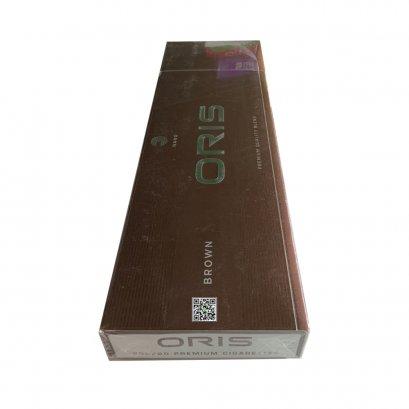 บุหรี่ เยอรมนี-Oris Brown Slim (tar 5 mg,nicotine 0.5 mg)