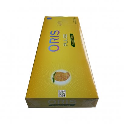 บุหรี่ เยอรมนี-Oris Pulse Mango Mint Slim (tar 5 mg,nicotine 0.5 mg)