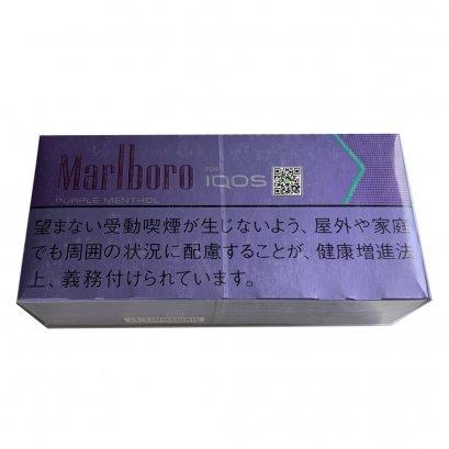 Marlboro Purple Menthol for IQOS เย็น ขายดีที่สุด กลิ่นเบอร์รี่เย็นเจี๊ยบ ระดับ 3