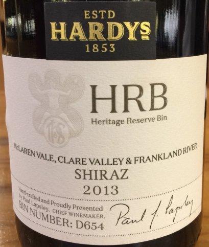Hardy's HRB Shiraz 2013