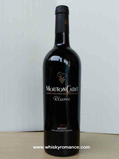 ไวน์แดงฝรั่งเศส-Mouton Cadet Reserve Medoc 2016  (12 ขวด)1-ลัง