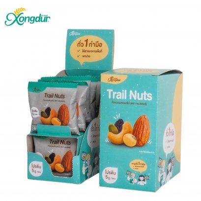 Trail Nuts ถั่วรวมผสมผสมไม้