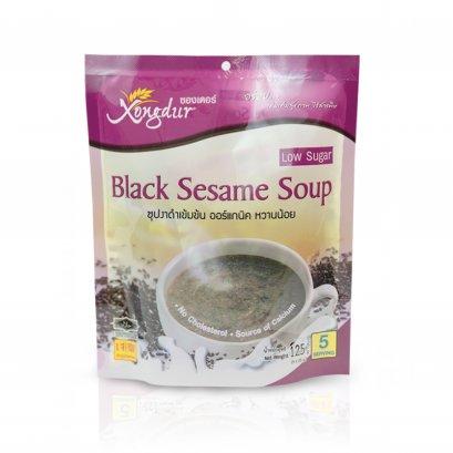 ซุปงาดำเข้มข้นหวานน้อย แบบแพค
