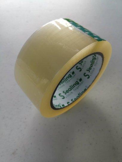 เทปโอพีพี 48มม.x100หลา (แพ็ค6ม้วน) สีใส S.Sealing
