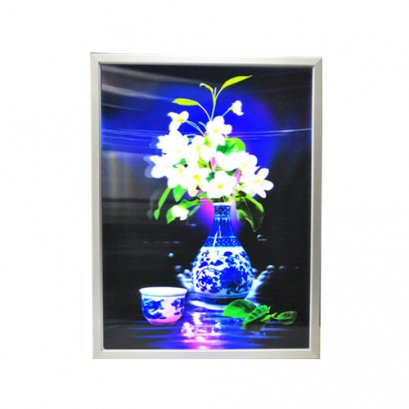 3D Lenticular Light Box for large lenticular poster