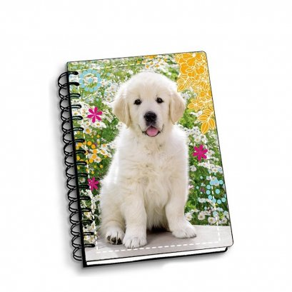 3D lenticular printing notebook for students custom writing 3d lenticular notebook for kids