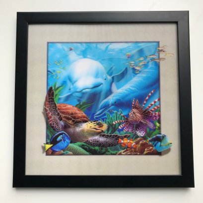 3D wall picture /5D lenticular hang picture for decorate wall