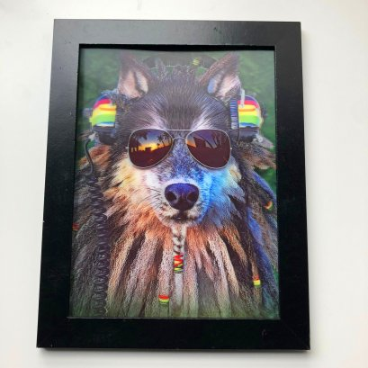 5d pictures3d 5d picture lenticular picture of music dog